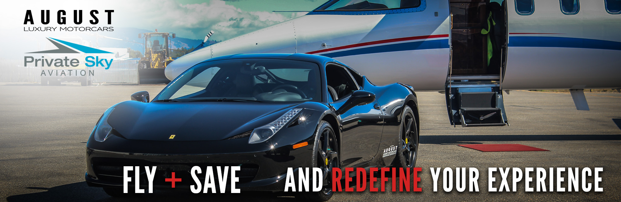 Fly and Save with August Motorcars