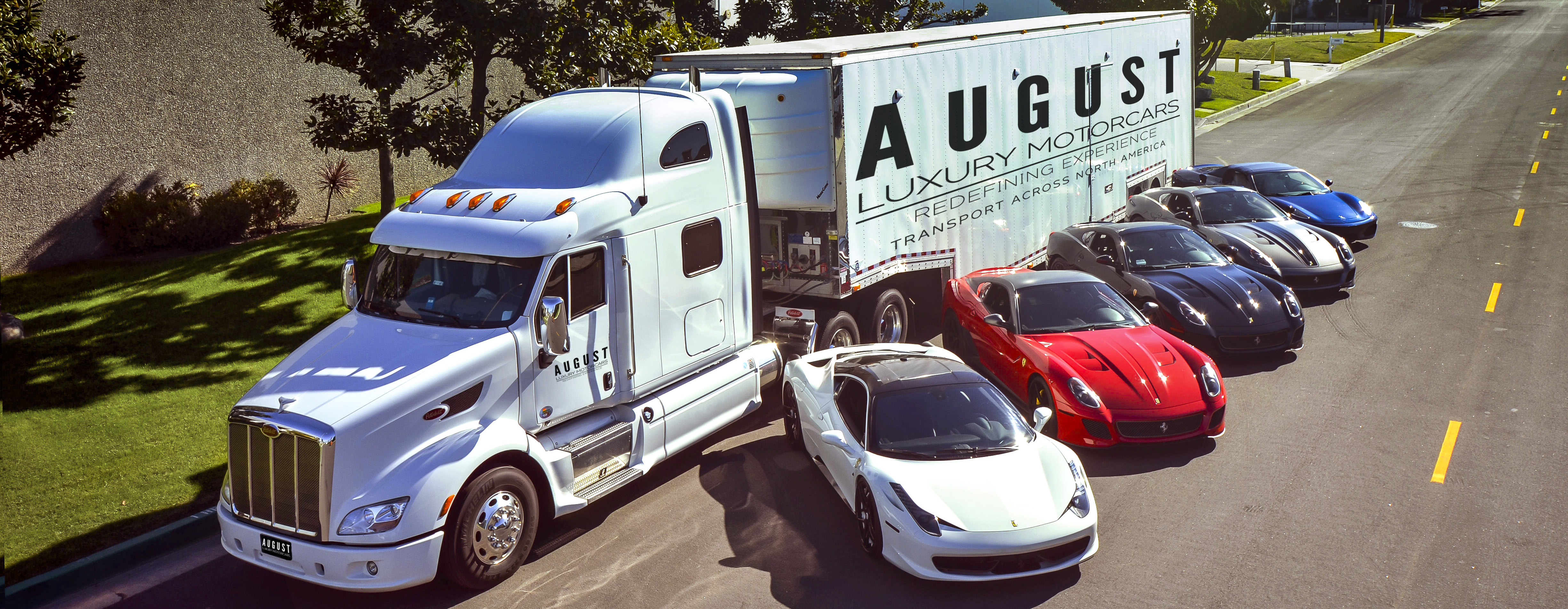 Shipping Solutions with August Luxury Motorcars