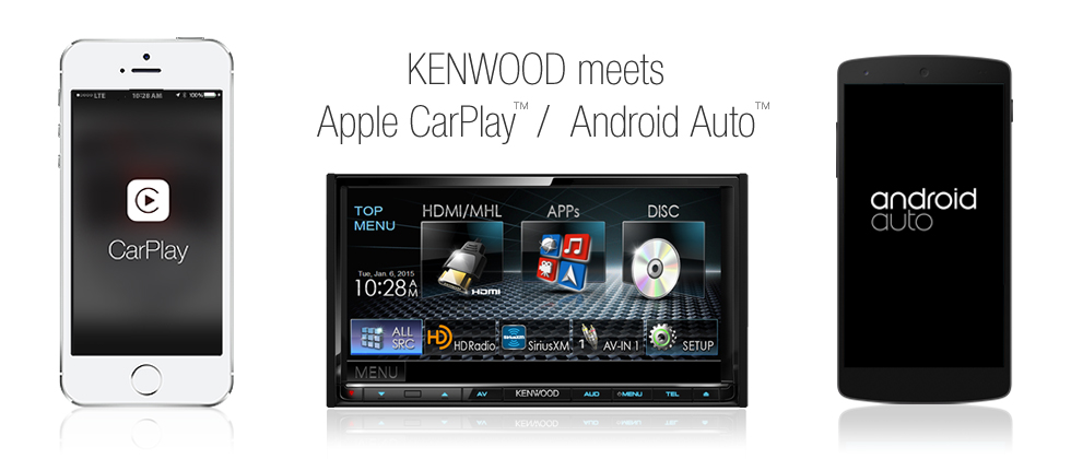 Kenwood meets Apple Carplay