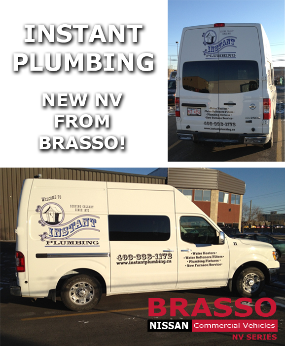Instant Plumbing Nissan Commercial vehicles