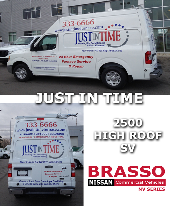 Just In Time Nissan Commercial Vehicle