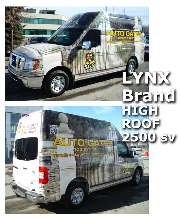 Lynx Brand Nissan Commercial Vehicle
