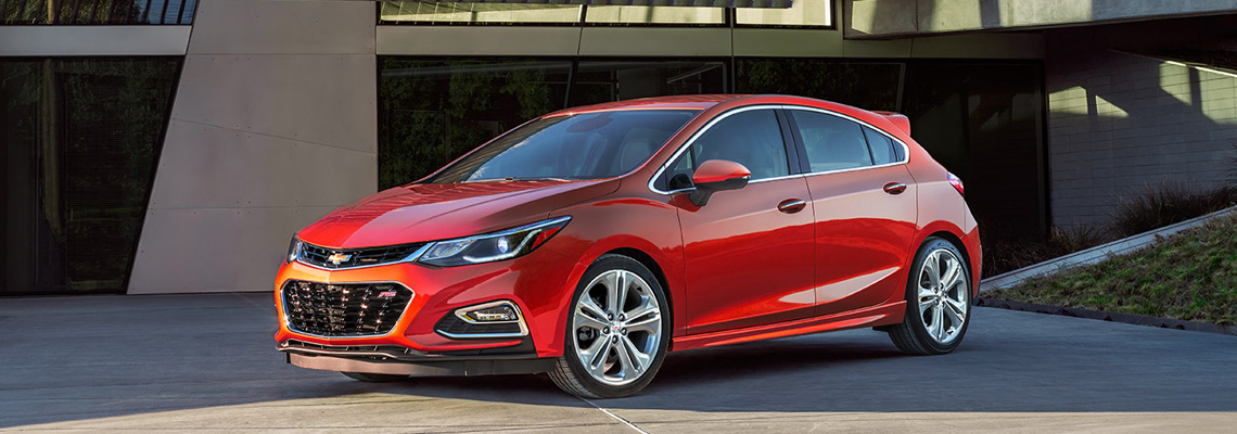 2018 Chevrolet Cruze at Buist Motor Products