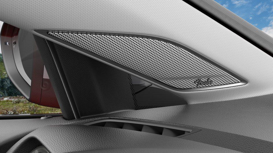 2018 Golf Alltrack Fender Audio system