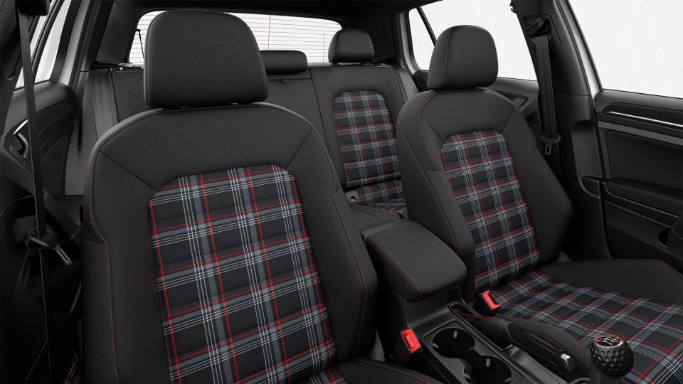 2018 Golf GTI adjustable front seats