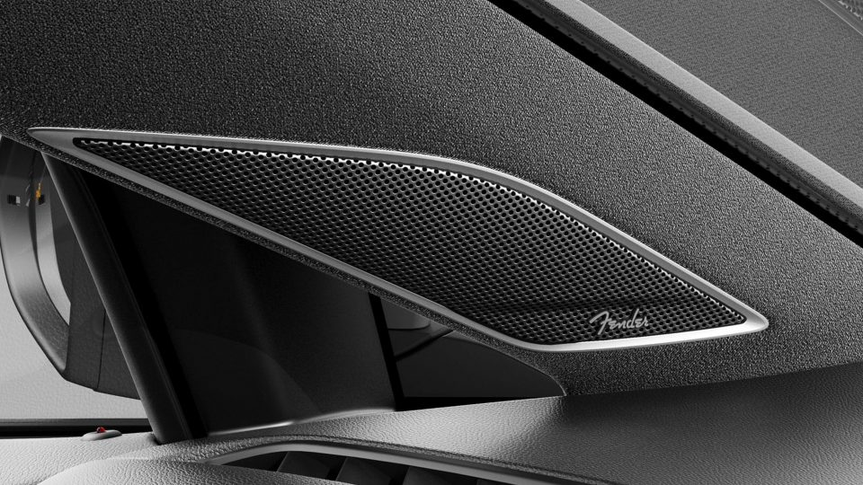 2018 Golf GTI Fender audio system