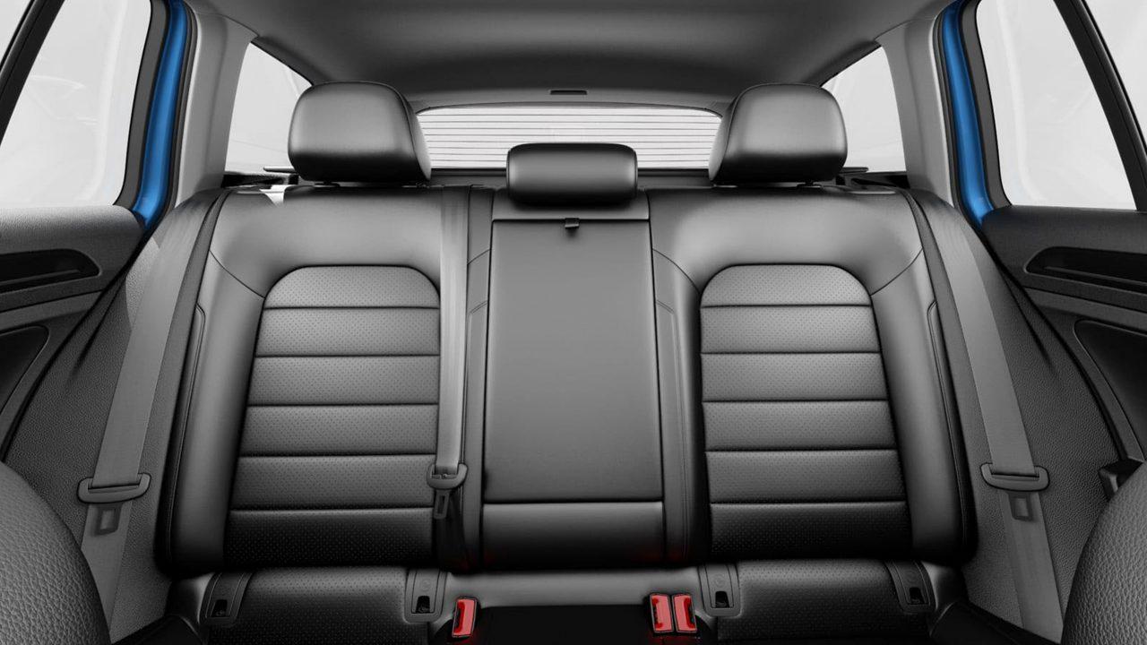 Golf Sportwagen folding rear seats