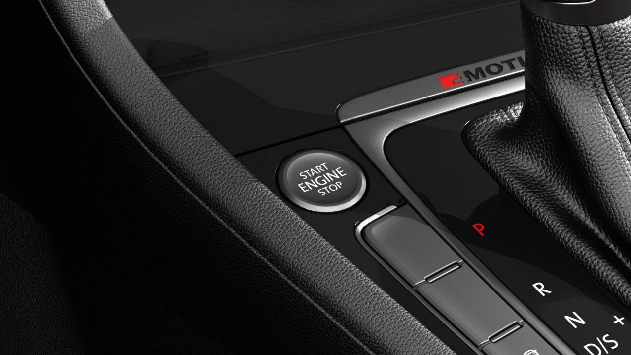 Golf Sportwagen push button start