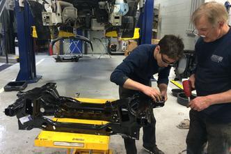 Sprinter Van Collision Repair in Laval