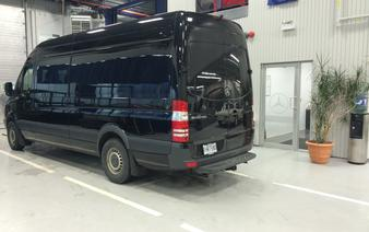 Sprinter Van Collision Repair in Laval
