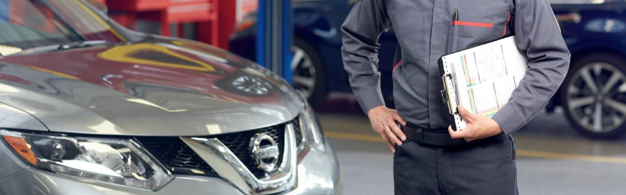 Nissan vehicle service