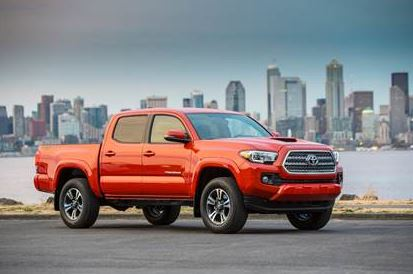 2017 Toyota Tacoma model