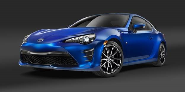 New Toyota 86 model