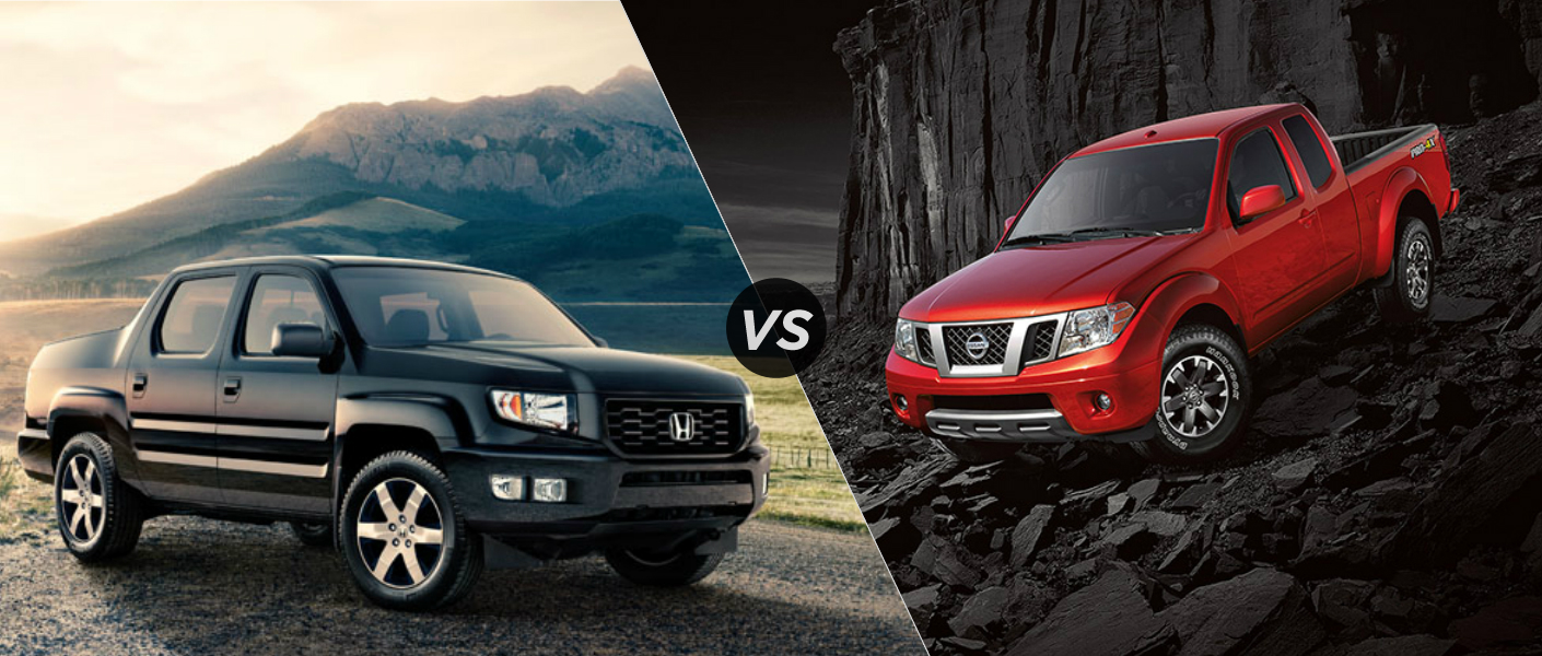 2014 Honda Ridgeline vs 2014 Nissan Frontier A