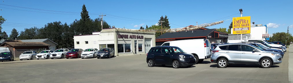 Empire Auto Sales dealership building