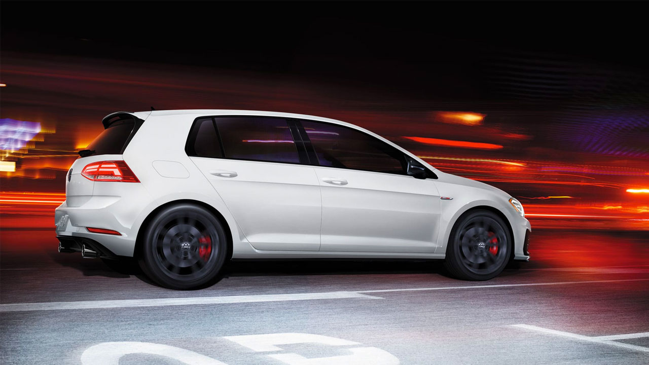 2019 VW Golf GTI - sport suspension
