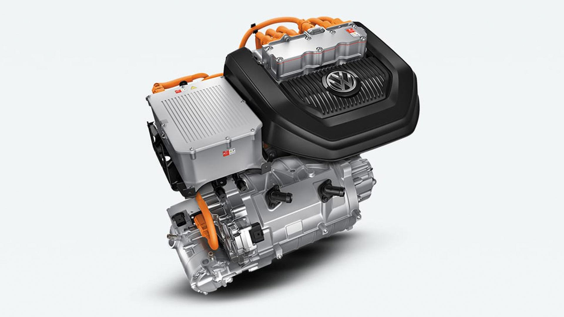 E-golf Electric Engine