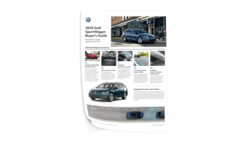 Brochure Golf Sportwagen