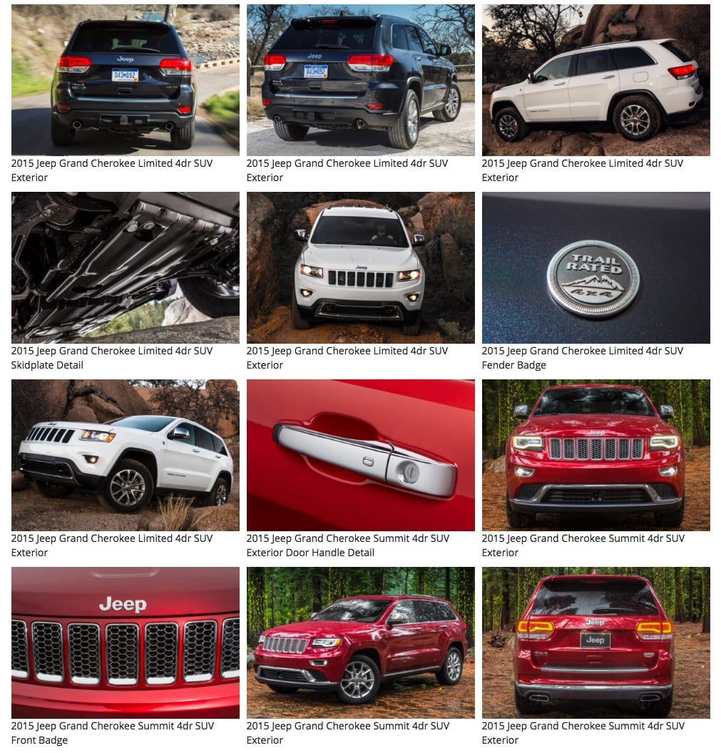 2015 Jeep Grand Cherokee gallery