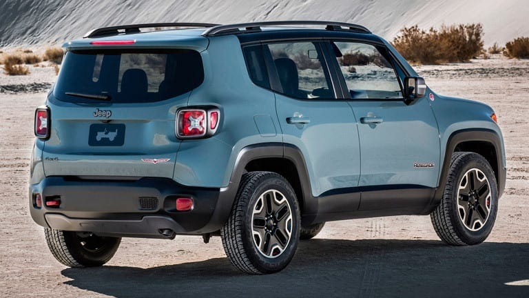 2015 Jeep Renegade Exterior View