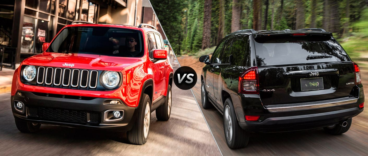 Jeep Renegade vs Jeep Compass