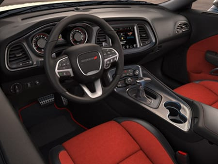 2016 Dodge Challenger interior view
