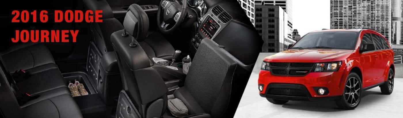 2016 Dodge Journey model