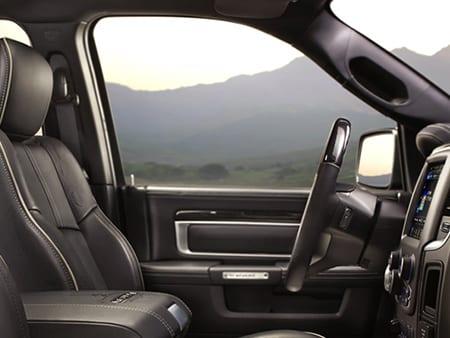 2016 Ram 1500 truck interior