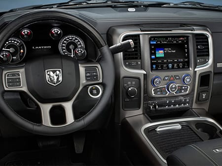 2016 Ram 2500 Interior View