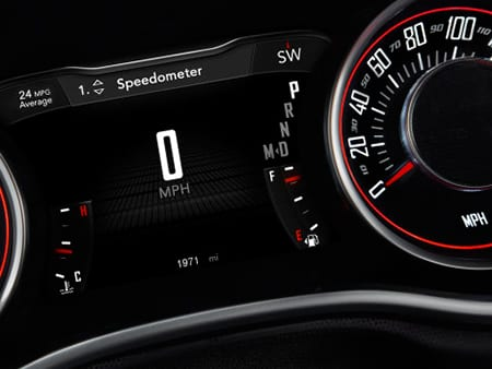 Dodge Challenger Digital Gauges