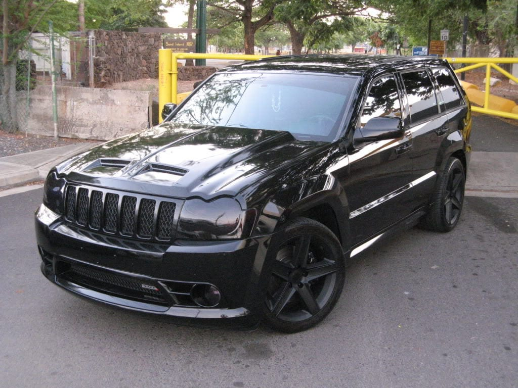 Used Jeep Grand Cherokee model