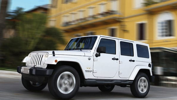 Used Jeep Wrangler model