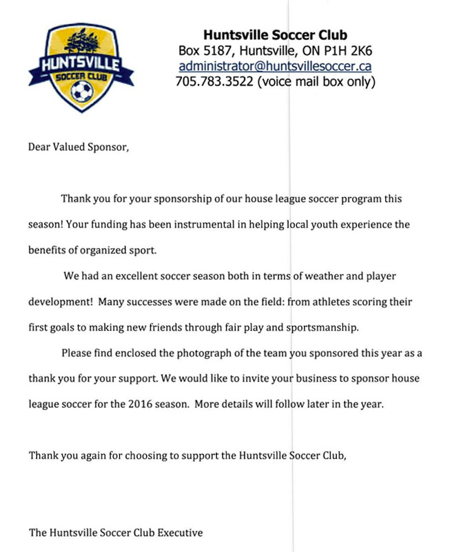 huntsville-soccer-club-sponsership-letter-huntsville-ontario