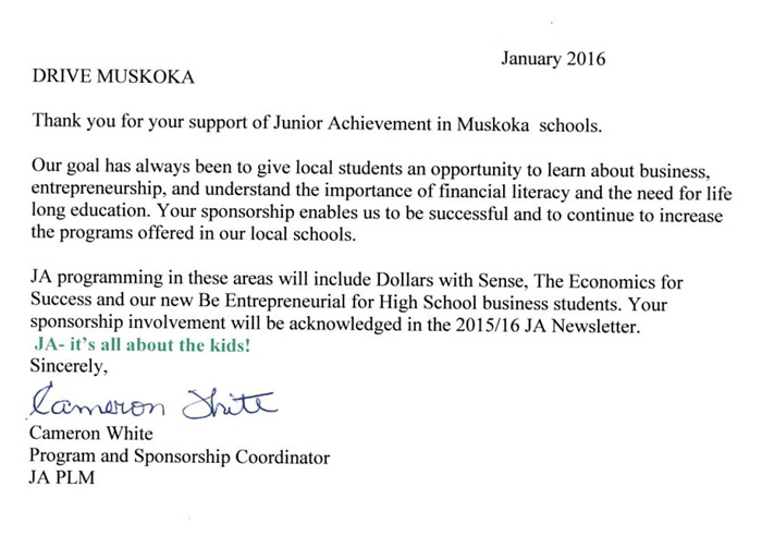 junior-achievement-muskoka-schools-letter