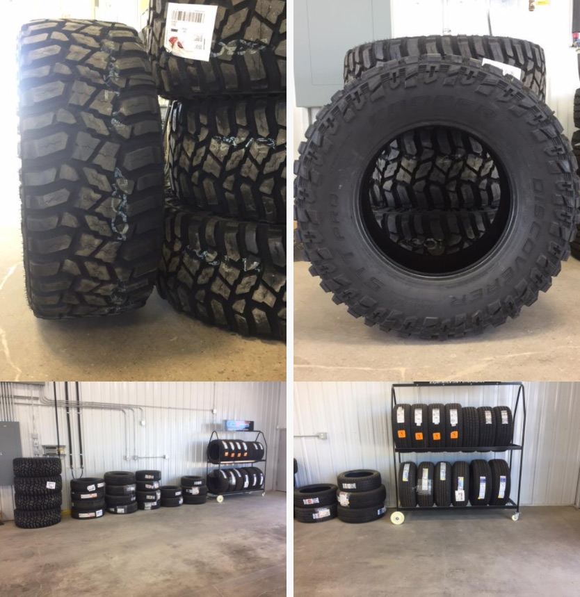 new tires available