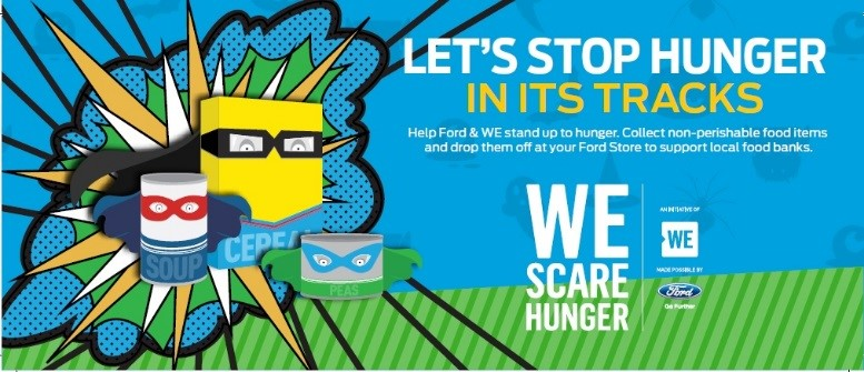 We Scare Hunger promotion