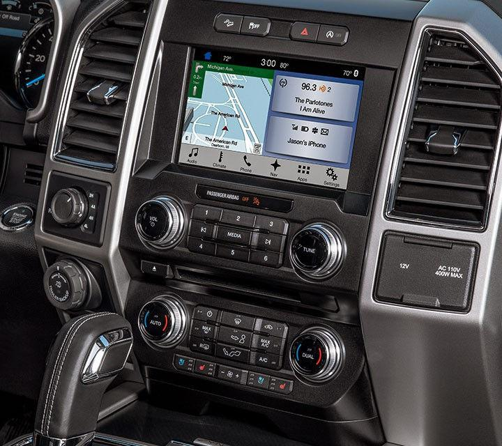 Ford F-150 technology