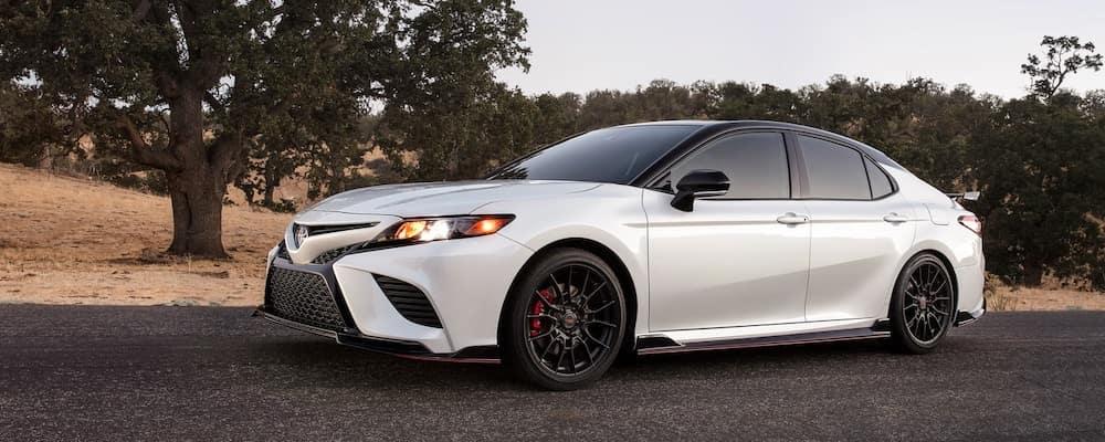 2020 Toyota Camry White