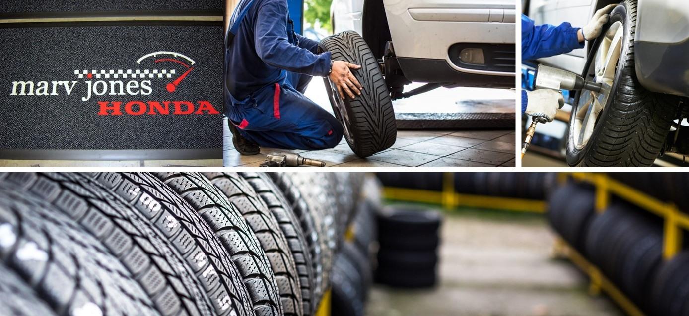 Marv Jones Honda Tires