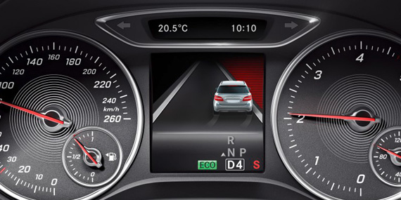 2018 Mercedes-Benz B-Class Lane keeping assist
