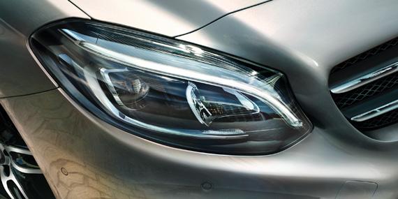 2018 Mercedes-Benz B-Class headlamp