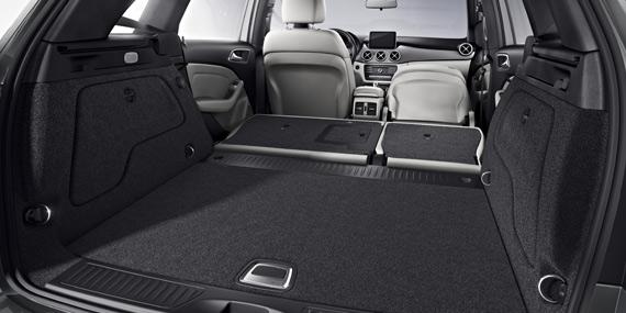 Mercedes-Benz B-Class versatile cabin