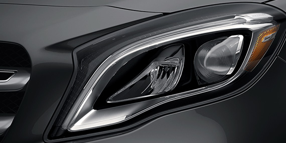2018 Mercedes-Benz GLA headlamp