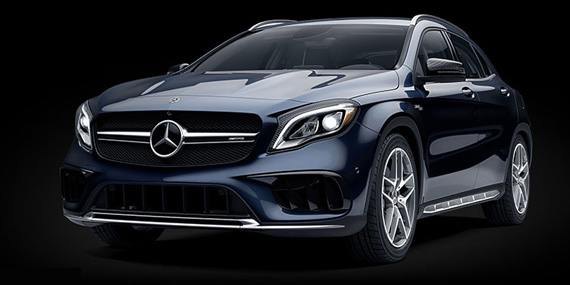 2018 Mercedes-Benz GLA model