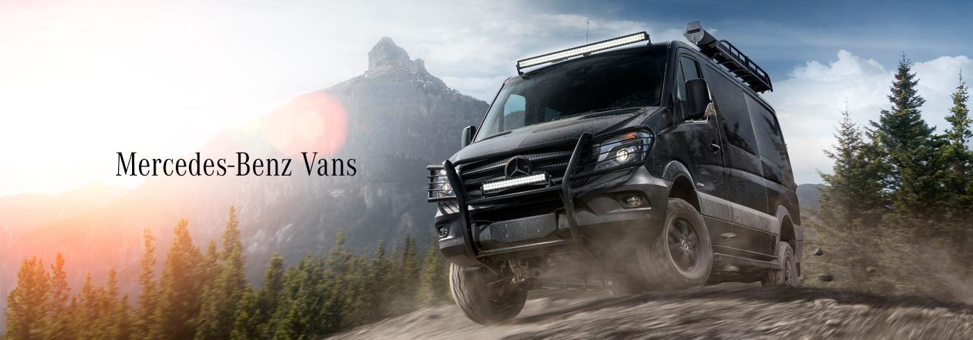Mercedes Benz Vans Hero