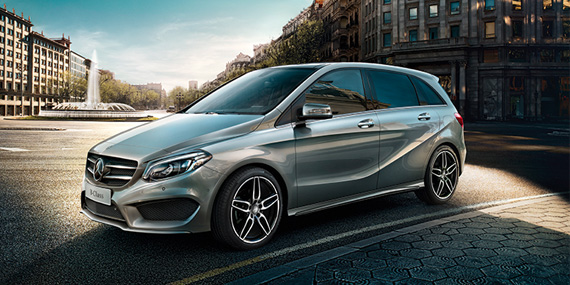 2018 Mercedes-Benz B-Class Avantgarde Edition package