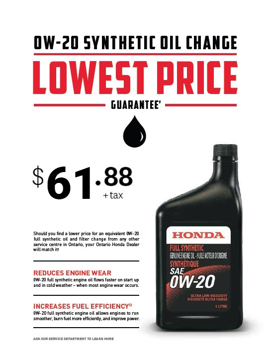 Oil Change Lowest Price Guaranteed