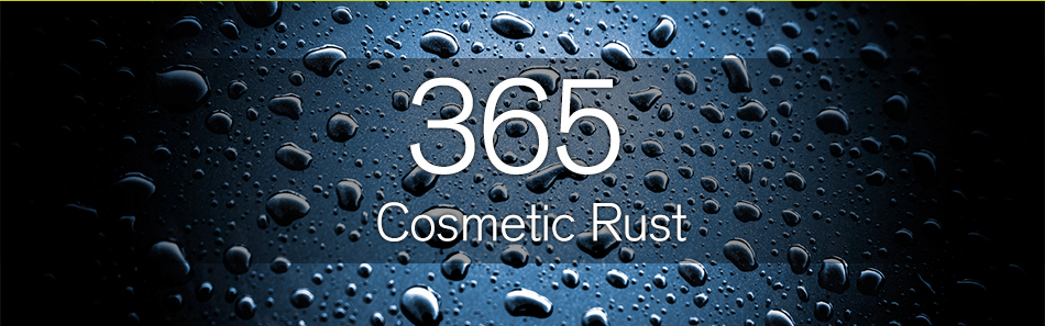 Cosmetic Rust Protection