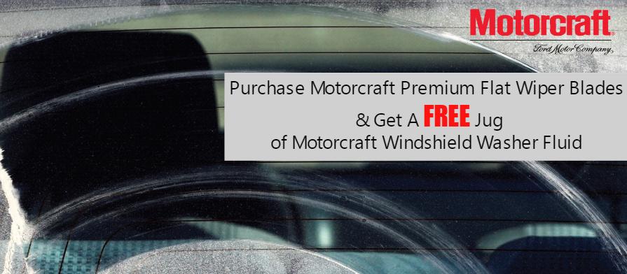 Motorcraft Premium Wiper Blades
