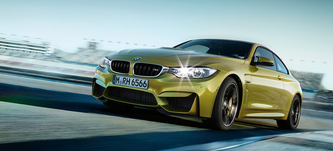 2018 BMW M4 Coupe model